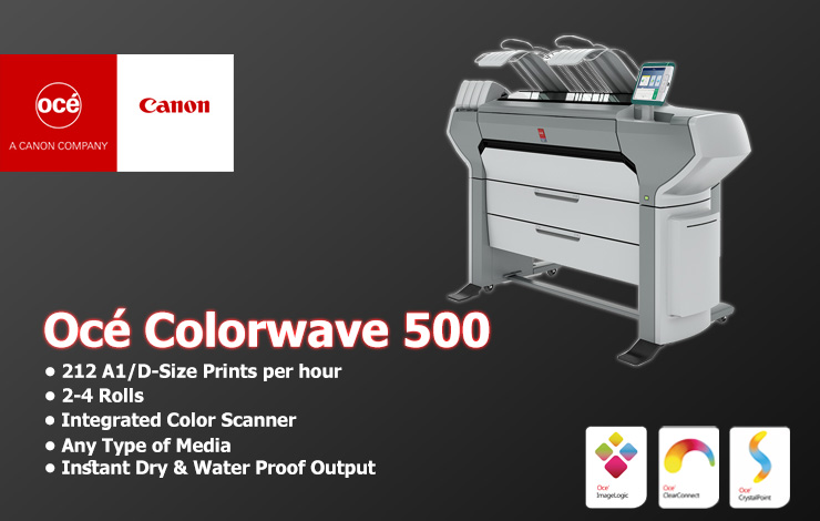 Océ Colorwave 500 - پلاتر اسه