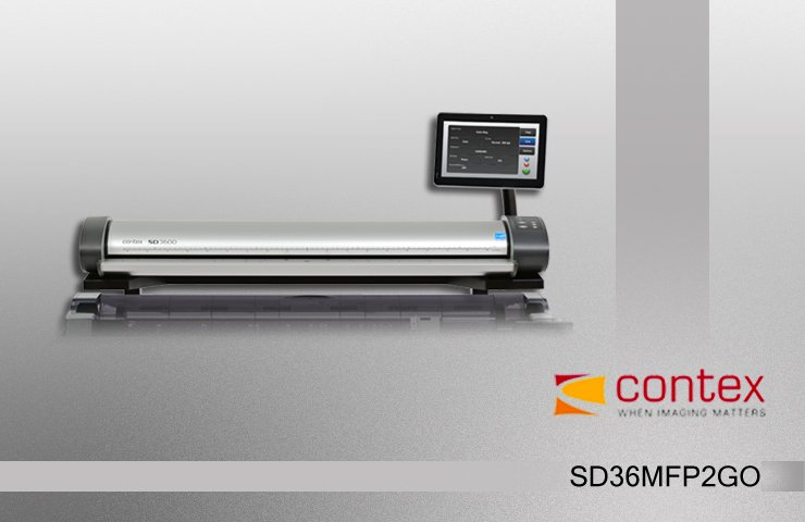 اسکنر نقشه Contex SD3600 MFP2GO