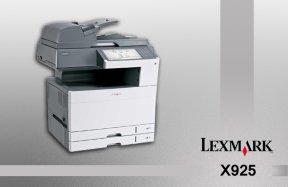 چاپ دیجیتال Lexmark X925