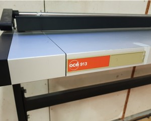 Océ 913 Cutting Device